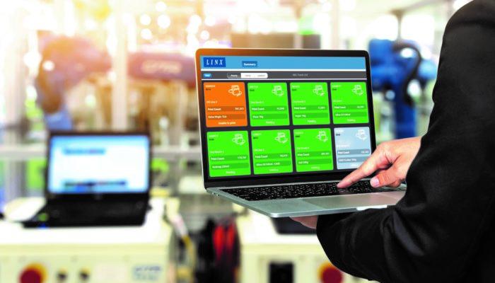 Fjernsupport med Linx PrinterNet